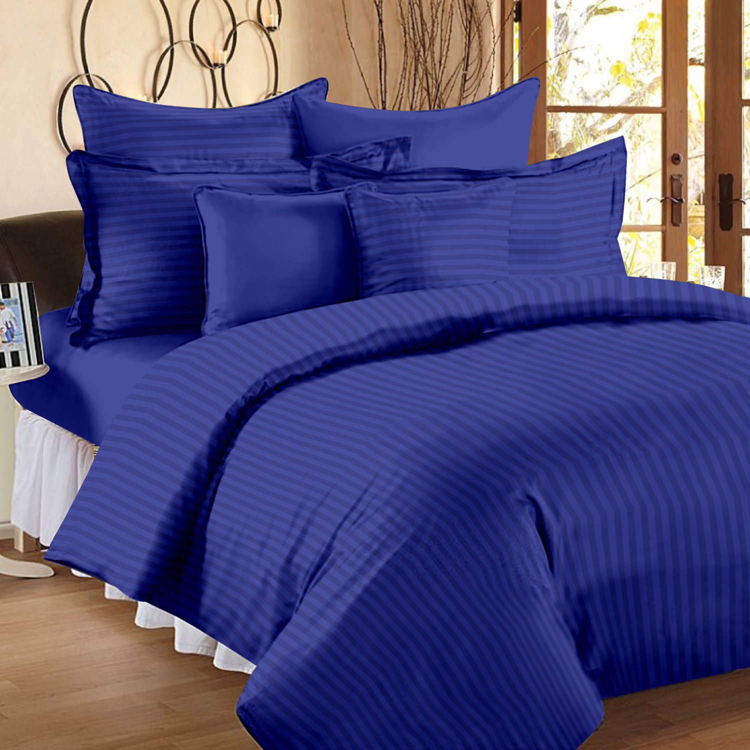 300 Tc Duvet Cover Double Size Premium Cotton